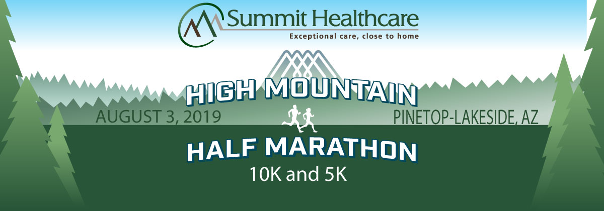 High Mountain Half Banner